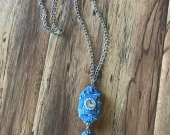 Recycle Denim Necklace