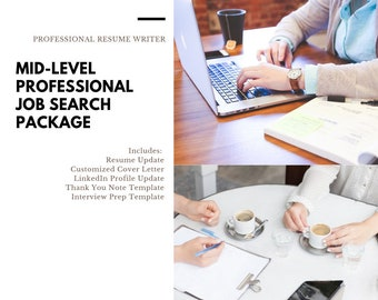 Mid Level Professional Resume Writing Writer Design Edit Update