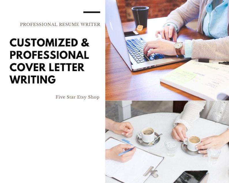 Cover Letter Writing Resume Writing Resume writer | Etsy