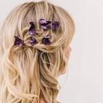 Beautiful natural real flower hydrangea hair accessories. Hairpiece, wedding, bridesmaid, flower girl, flower clip, grip, comb