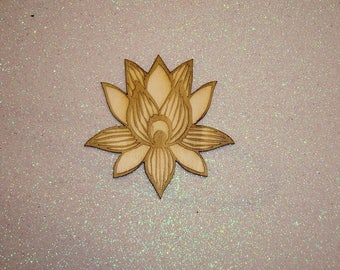Flower 1646 lotus for card making or scrapbooking your page