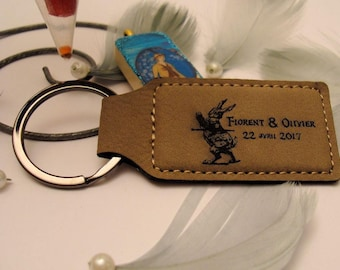 personalized Keychain 1881