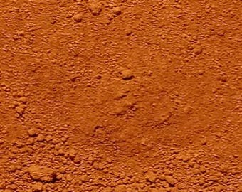Orange Oxide (Terra Cotta) Pigment Powder for Craft Paint Medium Mixed Media Jewelry Resin Wax Clay