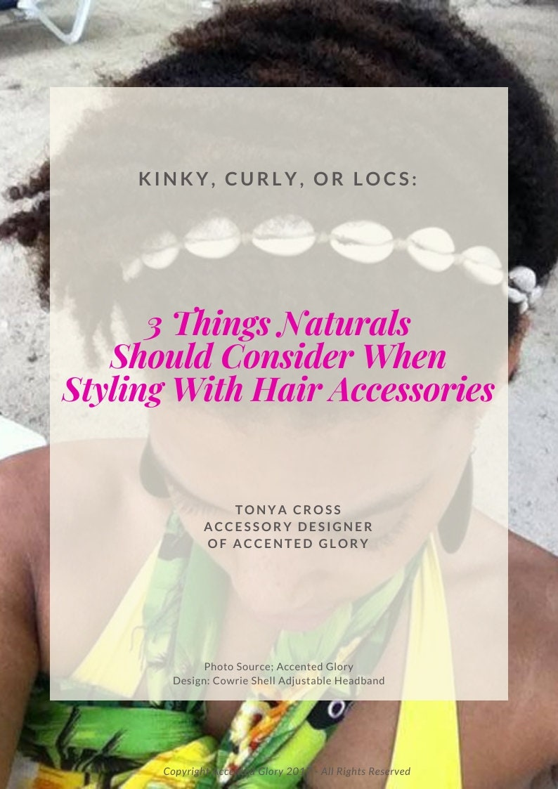 Styling With Hair Accessories Guide  Styling Guide  E-Guide image 0