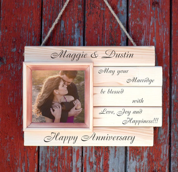 Wedding Shower Gift Ideas For Couple 25th Wedding Anniversary Etsy