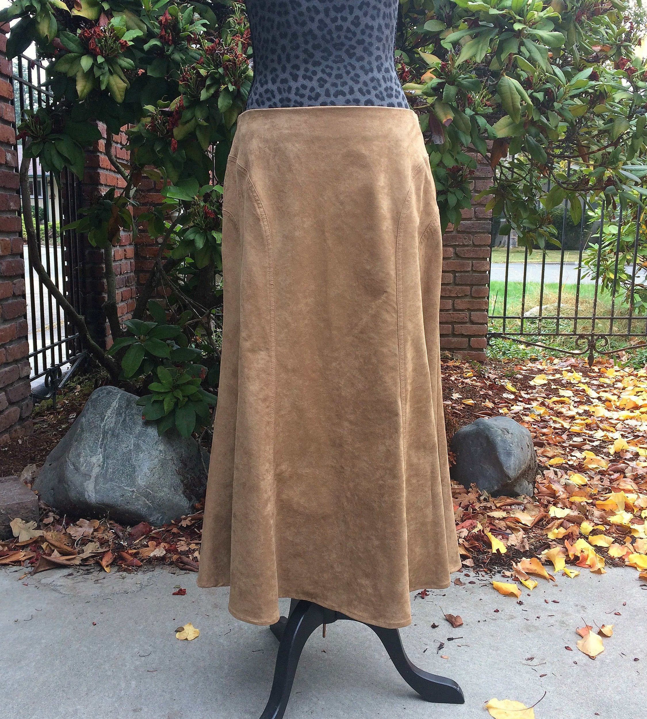 f0ec108f2 Long Faux Leather Maxi Skirt – DACC