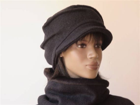 e01d6578caf Hat cap woman vintage woolen winter boiled and doubled in