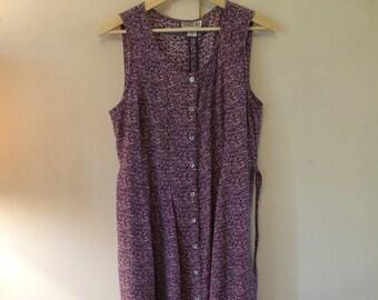 Purple Vintage Robbie Bee Dress