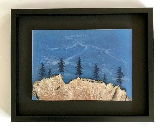 Wood and Resin Wall Art - Tide and Timber - Handcrafted Wood and ...
