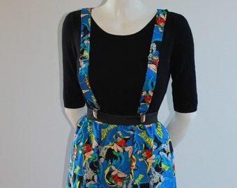 8bc81f73506 Batman and Robin Adjustable Suspender Skirt Available in All Sizes (Bracer  Skirt