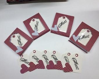 Valentine's Day handmade tickets