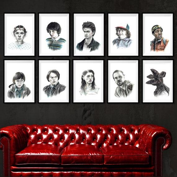 Custom Silk Poster Caleb McLaughlin Wall Decor