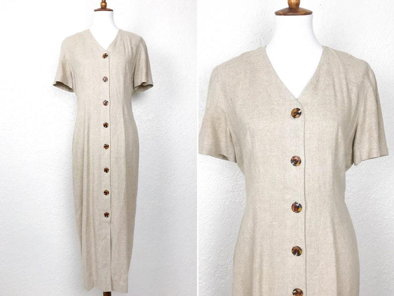 Linen Blend Short Sleeve Open Cardigan