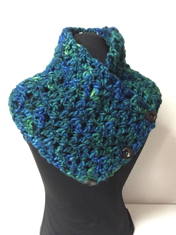Col en laine Malabrigo merino rasta   foulard   écharpe     Etsy 2c71b42582f
