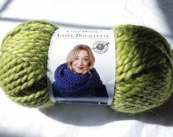1 Skein Sweet Grass Loops /& Threads Cozy Wool Super Bulky Wool//Acrylic Yarn