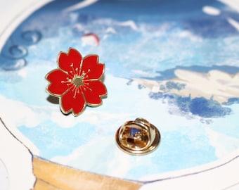 Cherry Blossom Pin—Sakura the Soul of Cherry Blossom
