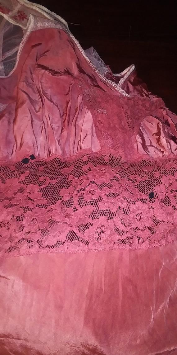 Lot of #3 vintage dresses Bohemian cottagecore gy… - image 5