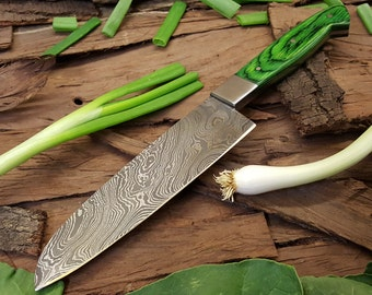 Damascus Chef Knife 003
