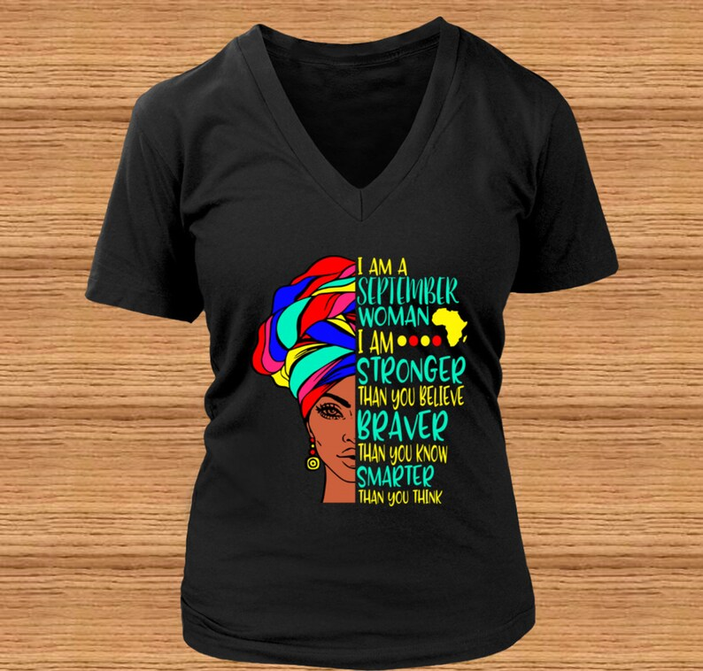 a84df2a8c I Am A September Woman I Am Stronger Than You Believe | Etsy