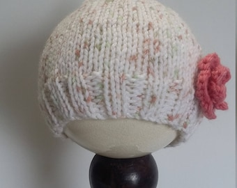 Newborn Flower Pixie Hat