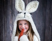 Woodland Bunny Blanket Crochet Pattern - Hooded Woodland Rabbit Blanket Crochet PATTERN MJ 39 s Off The Hook Design