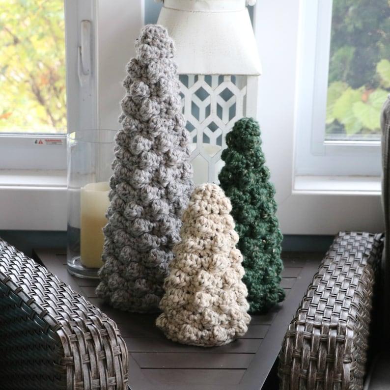 Bobble Christmas Tree Crochet Pattern
