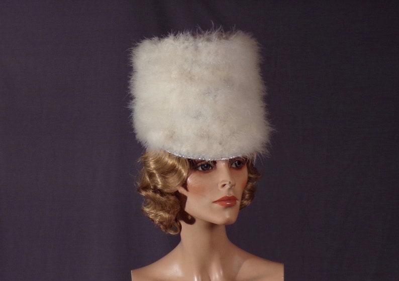 6502dd40e5196 Vintage 1960s Hat Majorette Flag Dancer Majorette