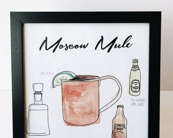 Moscow Mule - 8x10 Print