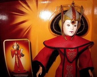 Vintage Star Wars Royal Elegance Queen Amidala Doll by Hasbro # 61779