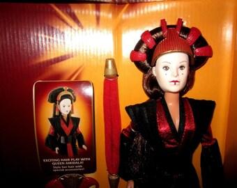 Vintage Star Wars Ultimate Hair Queen Amidala Doll by Hasbro # 61778