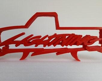 1960da3bf 1st Gen Ford Lightning Silhouette Desk Piece
