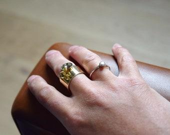 Golden Locket ring