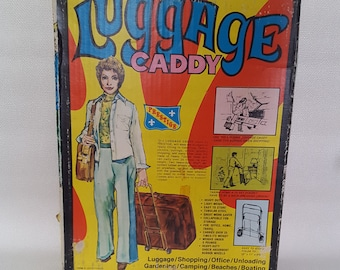 Vintage 1970s Folding Luggage Caddy by Prestige for Astra Trading Company