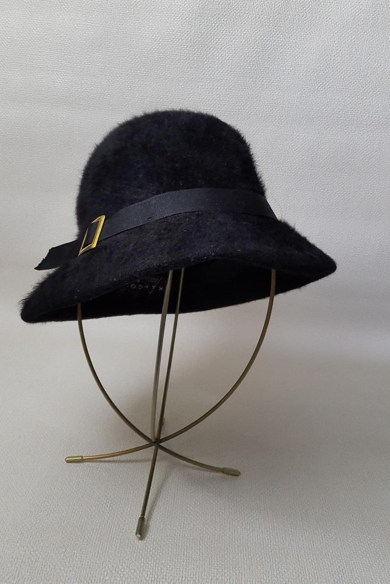 aaf9988f97c43 Vintage 1980s Kangol Furry Blend Bucket Hat