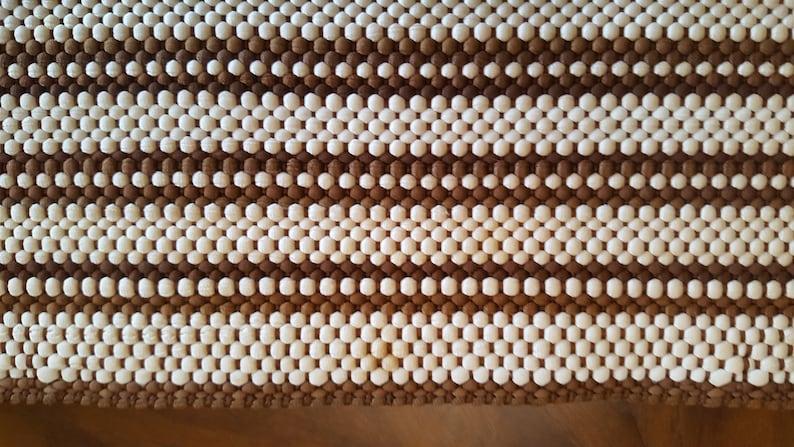 Vintage Earthtone Woven Placemats and Napkins Set 4 Each