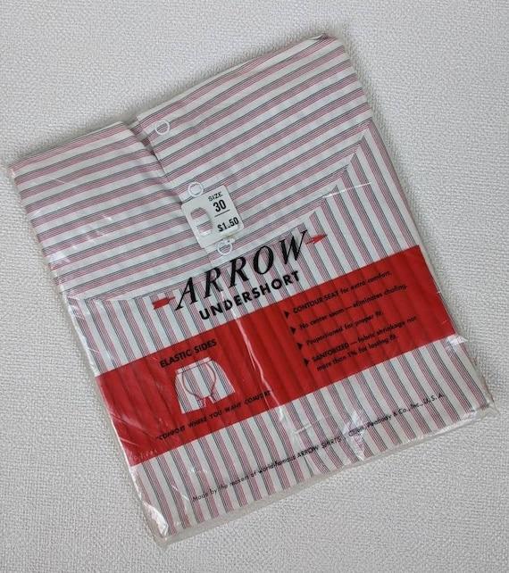 Vintage Mid-Century NOS Arrow Men's Snap Waist Und