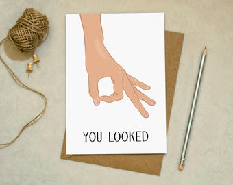 Circle Game - Greetings Card