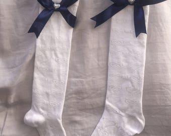 Adorable Bow Socks