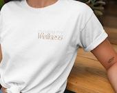 Minding My Wellness Unisex Short Sleeve Tee | Mental wellness, mental health, motivational