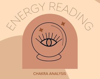 Same Day* Chakra + Aura Reading | chakra analysis, energy scan, reiki