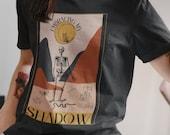 Embracing My Shadow Unisex Jersey Short Sleeve Tee | cottage core, shadow work, Halloween shirt , tarot tshirt, witchy shirt, skull shirt