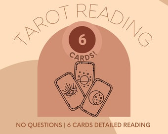 Same Day* Blind Tarot Reading, general spiritual reading, guidance, what spirit wants  you to know