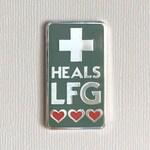Heals LFG enamel pin - Hard enamel pin
