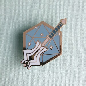 Thief d20 Archetypes Hard enamel pin