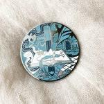"""Dungeon Master enamel pin - Large, 50MM - """"World Builder"""" - Hard enamel pin"""