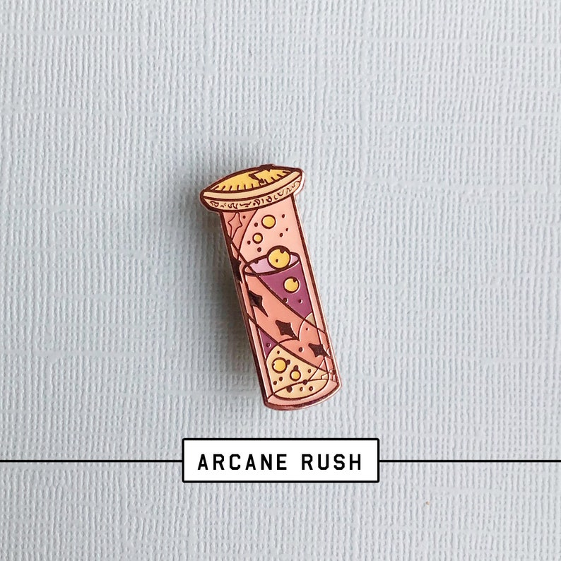 la meilleure attitude c31de 54b78 Seconds Grade - Final Run - Arcane rush potion - Hard enamel pin