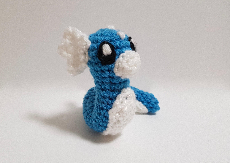 Dratini plush Pokemon Dratini toy Dratini toy Crochet   Etsy