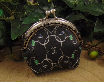 Crystals Small coin purse   Etsy