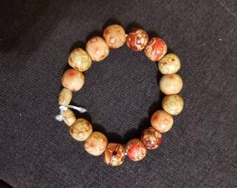 Tribal inspired Brown bracelet