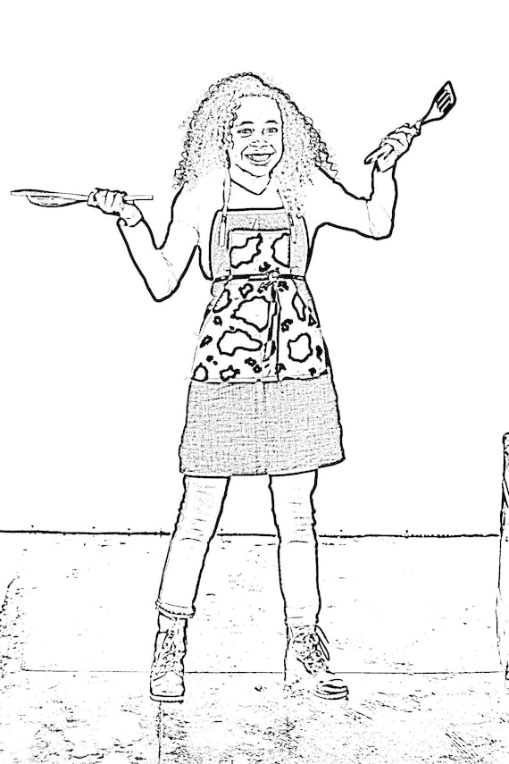 Tween Fashion Coloring Pages Cute Designs to Color and Sew!